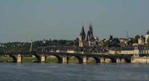Blois, Casteles der Loires, Frankreich Stockbild