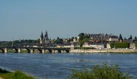 Blois, Casteles der Loires, Frankreich Stockfotografie
