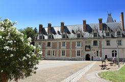Blois castle France Royalty Free Stock Photo