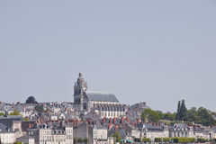 Blois cathedral Stock Photography
