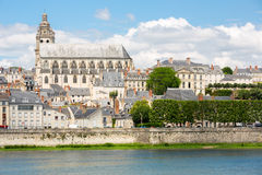 Blois Cathedral Royalty Free Stock Photography