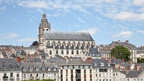 Blois Cathedral France Royalty Free Stock Photo