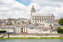 Blois CAthedral France Stock Photography