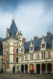 Blois-Chateau in Loire Valley in Frankreich Stockfotos