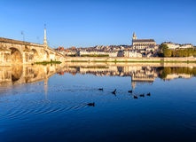 Blois, das Loire Valley, Frankreich Stockbild