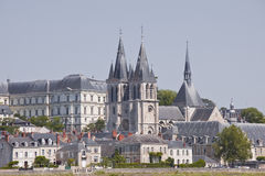 Blois in France Royalty Free Stock Image
