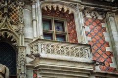 Blois, France. The Castle of Blois, Loire Valley, France, details Stock Photos
