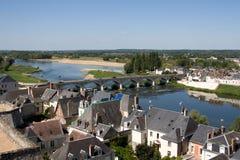 Blois Francia Fotografia Stock Libera da Diritti
