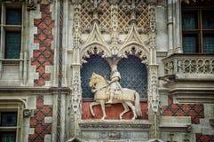 Blois, Francia fotografia stock libera da diritti