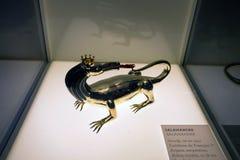 BLOIS, FRANKREICH - CIRCA IM JUNI 2014: Salamanderzahl im französischen Schloss von Blois Lizenzfreie Stockfotografie