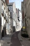 Blois Frankreich Straßenszene Lizenzfreie Stockfotografie