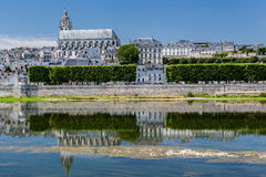 Blois katedra Obrazy Stock