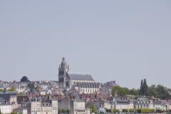 Blois Kathedrale Stockfotografie