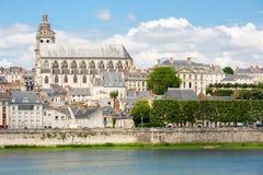Blois-Kathedrale Lizenzfreie Stockfotografie
