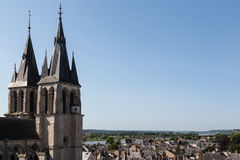 Blois and the Loire River Royalty Free Stock Photo
