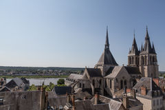 Blois and the Loire Royalty Free Stock Photos