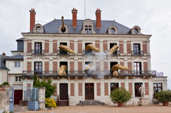 Blois musem of magic Stock Image