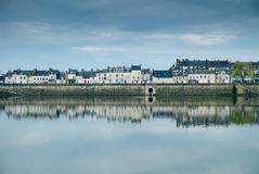 Blois new town Royalty Free Stock Images