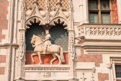 Blois Palast Lizenzfreies Stockbild