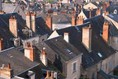 Blois roofs Royalty Free Stock Image