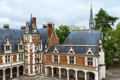 Blois Schloss Lizenzfreie Stockbilder