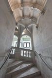 Blois-Schlosstreppe Lizenzfreie Stockfotos