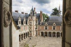 Blois slott Royaltyfria Foton