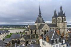 Blois-Stadt Lizenzfreies Stockfoto