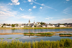 Blois in  Valley of Loire Royalty Free Stock Photography