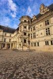 bloisslott france Loire Valley Arkivbilder
