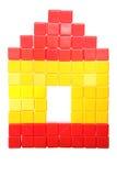 bloków dzieci domowa s zabawka Obraz Stock