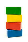 bloków target1290_1_ drewniany Zdjęcie Royalty Free