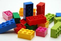 bloków target340_1_ kolorowy Obrazy Royalty Free