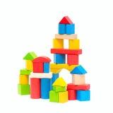 bloków target479_1_ drewniany Zdjęcie Royalty Free