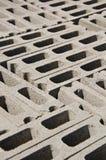 Blok de brique pour la construction Photo libre de droits