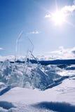 Blok lód Zdjęcia Stock