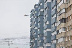 Blok mieszkalny od Wschodniego Europa Obraz Royalty Free