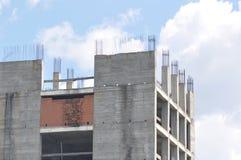 Blok mieszkalny w budowie Fotografia Royalty Free