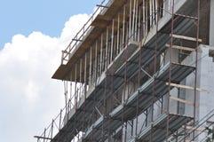 Blok mieszkalny w budowie Zdjęcia Stock
