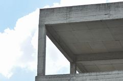 Blok mieszkalny w budowie Obraz Royalty Free