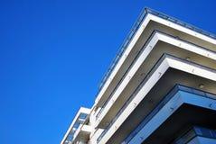 blok mieszkaniowy nowoczesnego Zdjęcia Stock