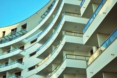 blok mieszkaniowy nowoczesnego Obrazy Stock