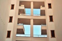 blok mieszkaniowy nowoczesnego Obrazy Royalty Free