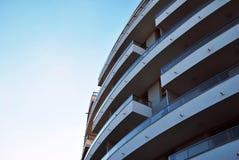 blok mieszkaniowy nowoczesnego Obraz Royalty Free