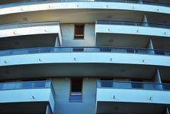 blok mieszkaniowy nowoczesnego Zdjęcia Royalty Free
