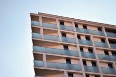 blok mieszkaniowy nowoczesnego Fotografia Stock