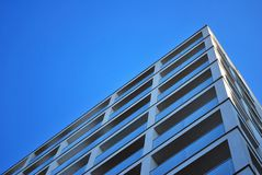 blok mieszkaniowy nowoczesnego Obraz Stock