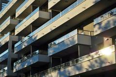 blok mieszkaniowy nowoczesnego Zdjęcie Stock