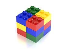 Blok van baksteen Royalty-vrije Stock Foto