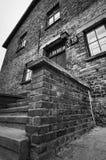 Blok w Auschwitz fotografia stock